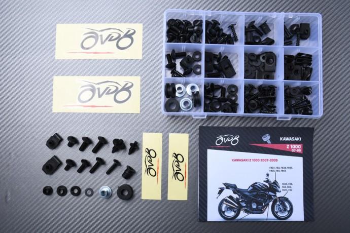Specific hardware kit for fairings AVDB KAWASAKI Z1000 2007 - 2009