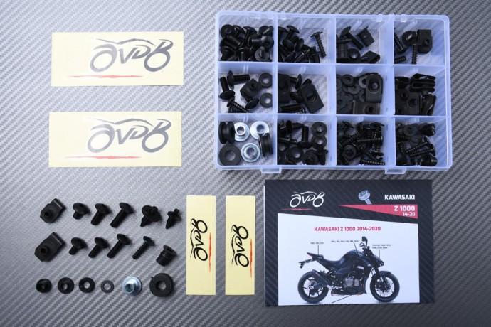 Specific hardware kit for fairings AVDB KAWASAKI Z1000 2014 - 2020