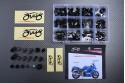 Specific hardware kit for fairings AVDB KAWASAKI ZX12 / ZZR 1200 2002 - 2005