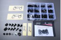 Specific hardware kit for fairings AVDB KAWASAKI ZX14R / ZZR 1400 2012 - 2020