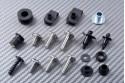 Specific hardware kit for fairings AVDB MV AGUSTA F4 2000 - 2018 / F4R 2006 - 2018 / F4RR 2011 - 2019