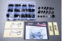 Specific hardware kit for fairings AVDB SUZUKI RGV 250 VJ21 1988 - 1990