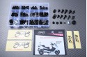 Specific hardware kit for fairings AVDB SUZUKI AN400 BURGMAN 400 2002 - 2018