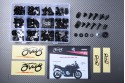 Specific hardware kit for fairings AVDB SUZUKI