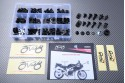 Specific hardware kit for fairings AVDB SUZUKI SVS 650 1999 - 2002