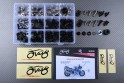 Specific hardware kit for fairings AVDB SUZUKI GSXR 750 1992 - 1995