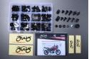 Specific hardware kit for fairings AVDB SUZUKI DL 1000 V-STROM 1000 2002 - 2012