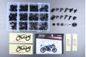 Specific hardware kit for fairings AVDB SUZUKI GSXR 600 / 750 2006 - 2007
