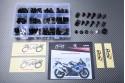 Specific hardware kit for fairings AVDB SUZUKI GSXR 1000 2003 - 2004