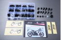 Specific hardware kit for fairings AVDB SUZUKI GSXR 1000 2009 - 2016