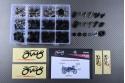 Specific hardware kit for fairings AVDB SUZUKI GSXR 1100 1989 - 1998