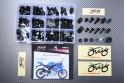 Specific hardware kit for fairings AVDB YAMAHA YZF R125 2008 - 2019