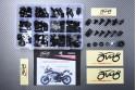 Specific hardware kit for fairings AVDB YAMAHA XJ6 DIVERSION / FZ6R 2010 - 2017