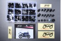 Specific hardware kit for fairings AVDB YAMAHA YZF R6 2006 - 2007