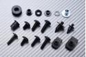 Specific hardware kit for fairings AVDB YAMAHA YZF R6 2008 - 2016