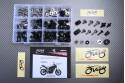 Specific hardware kit for fairings AVDB YAMAHA FZ-07 MT-07 2014 - 2020