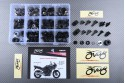 Specific hardware kit for fairings AVDB YAMAHA TDM 900 2002 - 2014