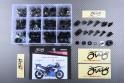Specific hardware kit for fairings AVDB YAMAHA YZF R1 2002 - 2003