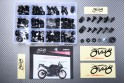 Specific hardware kit for fairings AVDB YAMAHA YZF R1 2004 - 2006