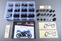 Specific hardware kit for fairings AVDB YAMAHA YZF R1 2007 - 2008