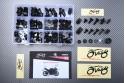 Specific hardware kit for fairings AVDB YAMAHA YZF R1 2009 - 2014