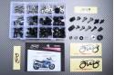 Specific hardware kit for fairings AVDB YAMAHA  FJR 1300 2001 - 2012
