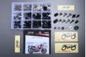 Specific hardware kit for fairings AVDB YAMAHA YZF 750 1993 - 1997