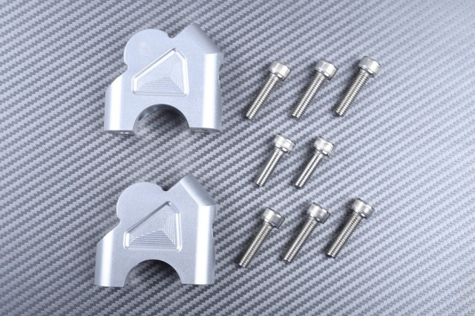 Specific handlebar risers BMW R1200GS and S1000XR