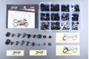 Specific hardware kit for fairings AVDB HONDA CBR 600 RR 2013 - 2020