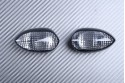 Pair of front turn signals YAMAHA YZF R1 R6 / FZ1 FZ6 FAZER 600 1000 / TDM 900 / MT01