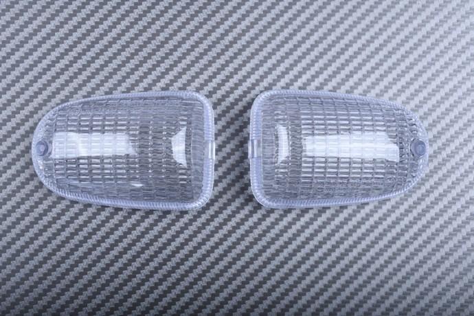 Pair of Rear Turn Signals Lenses MV AGUSTA STRADA F4 F1000 BRUTALE 2001 - 2009