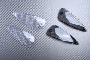 Pair of Front Turn Signals Lenses BMW K1200RS 1997 - 2001