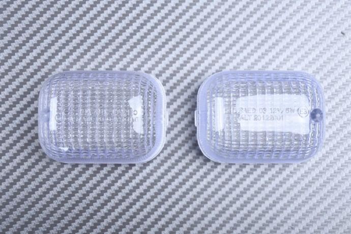 Pair of Front Turn Signals Lenses DUCATI