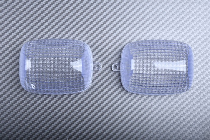 Pair of Front Turn Signals Lenses HONDA CBR 600 1000 1997 - 2007