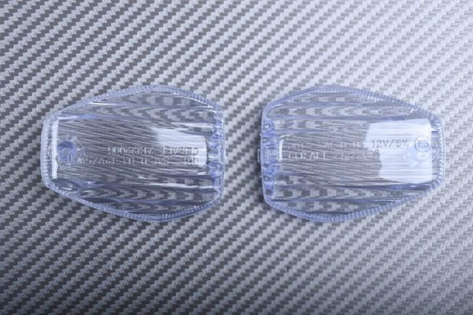 Pair of Front Turn Signals Lenses HONDA CBR 600 F FS RR 954 1000 RR /  VTR / HORNET / CB1000R / CB1300 / TRANSALP