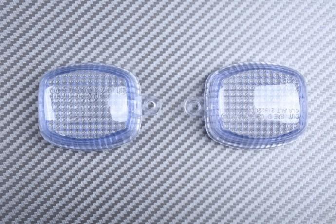 Pair of Front Turn Signals Lenses KAWASAKI