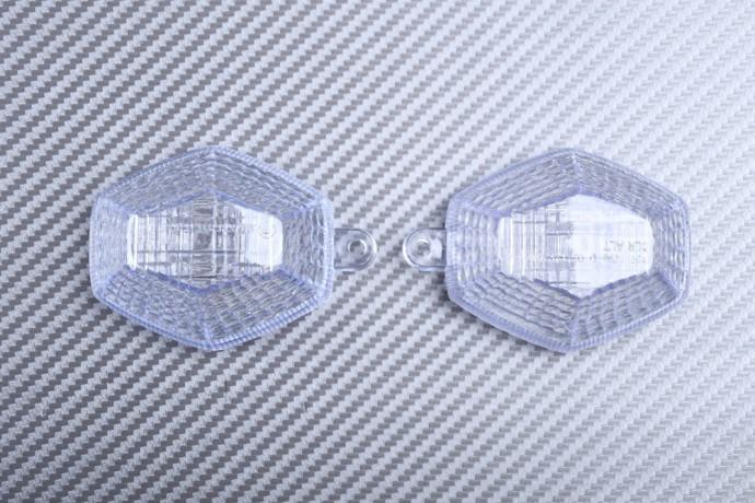 Pair of Front Turn Signals Lenses SUZUKI