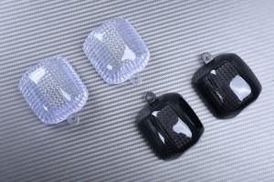 Paire de caches clignotants arrière YAMAHA YZF R1 R6 1998 - 2002 / FAZER 600 1000 FZS / YZF 600 750 1000 / FZR 600 / TRX 850
