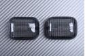 Pair of rear Turn Signals Lenses BENELLI 491 / ITALJET / MALAGUTI CR1 PHANTOM