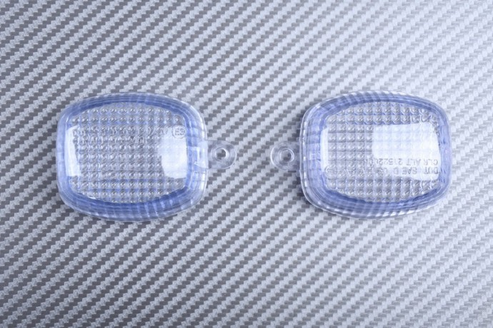 Pair of Turn Signals Lenses KAWASAKI