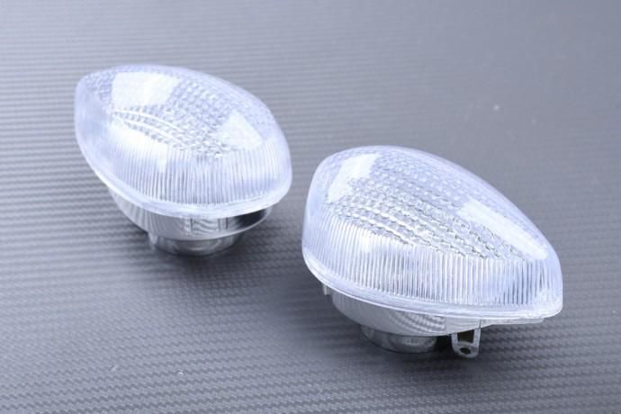 Pair of Turn Signals Lenses YAMAHA FZ8 / FAZER 800 / XJ6 / VMAX 1700 / XTZ 1200 / WR