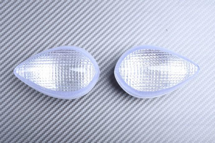Pair of Turn Signals Lenses YAMAHA YZF R1 2007 - 2014 / R6 2006 - 2016 / R3 / FZ8 / FAZER 800 / XJ6 / VMAX 1700