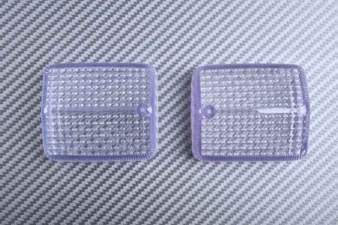 Pair of Turn Signals Lenses HONDA AFRICA TWIN 650 750 / DOMINATOR / CB 125 250 500 / XLR