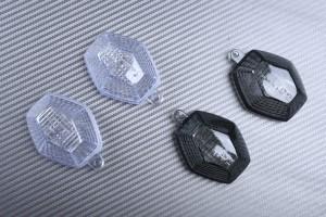 Pareja de cristales intermitentes SUZUKI BANDIT 600 1200 / SV 650 1000 2003+ / GSXR 600 750 1000 / VSTROM 650 1000 / DRZ 400
