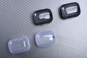 Pareja de cristales intermitentes HONDA SH 50 100 / MALAGUTI CR1 / MZ 125 RT SUPERMOTO 660