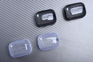 Paire de caches clignotants BMW F650GS / F650CS SCARVER / G650GS & BUELL M2 / S1