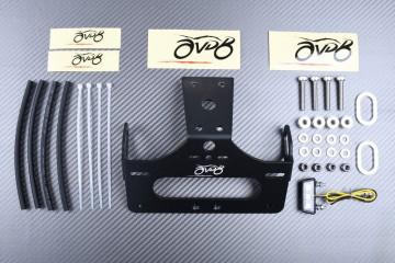 Specific License Plate Holder HONDA CBR500R / CB500F 2016 - 2020