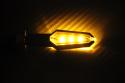 Pareja de intermitentes LED universales con 2 caras