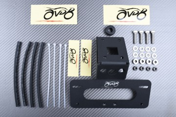 Specific License Plate Holder KAWASAKI ZX6R 2019 - 2021 & Z1000 / Z1000R 2014 - 2021
