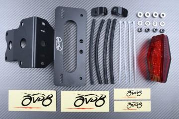 Portamatrícula específico KAWASAKI KLX 150 2005 - 2014 / KLX 125 D-TRACKER 125 2010 - 2021